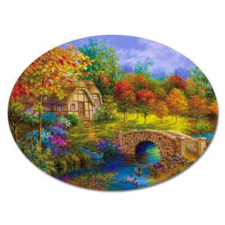 Puzzle - Bunter Herbst Puzzeln - Ein Spaß für die ganze Familie – spannend und entspannend zugleich.