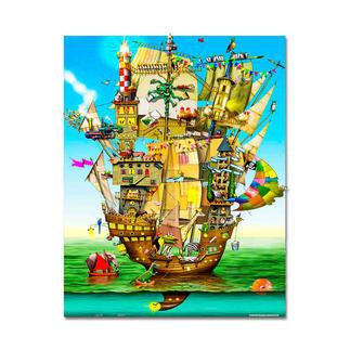 Puzzle - Norah´s Castle nach Colin Thompson Meisterwerke großer Künstler als Puzzle