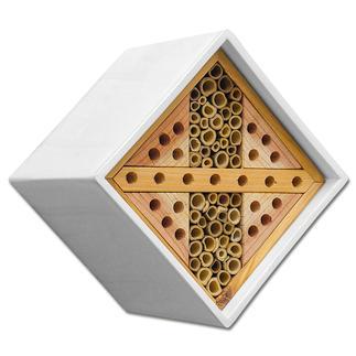 Kubus Bienen-/Insektennest Insektenhotels - gemütliches Heim für kleine, nützliche Gartenhelfer