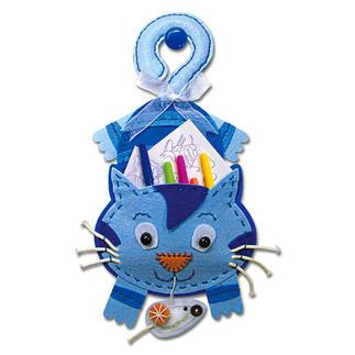 Hänge-Utensilo - Katze Filzen – der beliebte Bastelspaß für Erwachsene und Kinder.