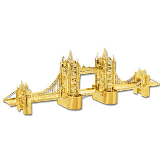 3D-Miniaturen - Tower Bridge Hochwertige Edelstahl – Miniaturen in 3D. Jetzt auch in Gold und Silber.