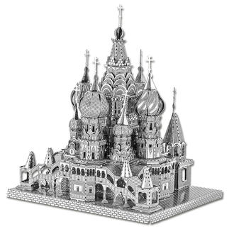3D-Miniatur - Basilius Kathedrale Hochwertige Edelstahl – Miniaturen in 3D.
