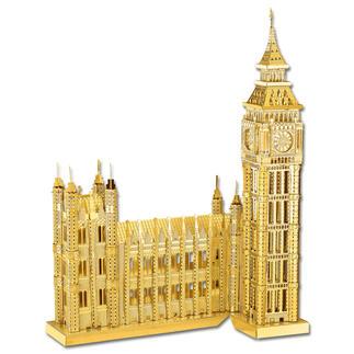 3D-Miniaturen - Big Ben Hochwertige Edelstahl – Miniaturen in 3D. Jetzt auch in Gold und Silber.