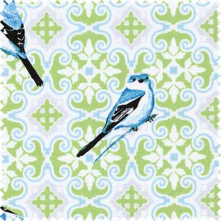 Stoffzuschnitt - Notting Hill, Birdie Matte Pudertöne lassen klassische Muster unfassbar schön wirken.