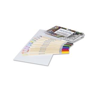 Zencolor Stiftebox mit 12 Buntstifte Zencolor 12 Premium-Buntstifte