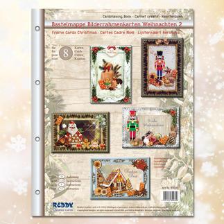 Bastelmappe Weihnachten Persönliche Weihnachtspost - Bastelmappe für weihnachtliche Karten.