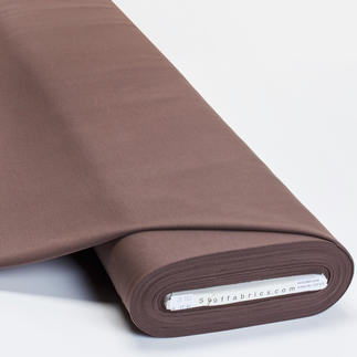 Meterware Uni-Baumwoll-Jersey - Braun Baumwoll-Jersey – Der ideale Stoff für bequeme Shirts, Kleider und Kindermode.