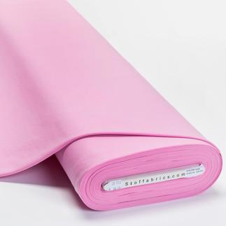 Meterware Uni-Baumwoll-Jersey - Rosa Baumwoll-Jersey – Der ideale Stoff für bequeme Shirts, Kleider und Kindermode.