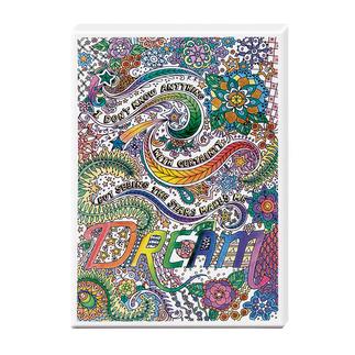 Zen-Color™ Keilrahmen-Bild - Dream Zen-Color™ - Die Art des Entspannens.
