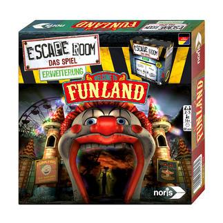 Escape Room Spiel-Erweiterung - Welcome to Funland Welcome to Funland: Ein neues Abenteuer für Ihr Escape Room Spiel.