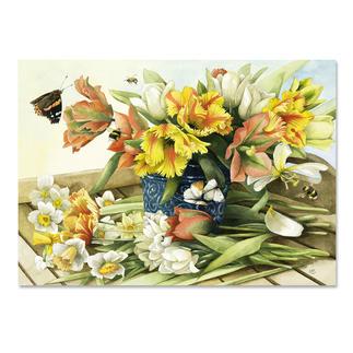 Puzzle - Marjolein Bastin, Frühlingsblüher Ein Spaß für die ganze Familie – spannend und entspannend zugleich.