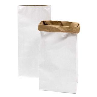 Paperbags – Weiß Paperbags – praktische und stylishe Homestyle-Accessoires.