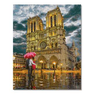 """Malen nach Zahlen - Notre Dame Malen nach Zahlen - Die Kathedrale """"Notre-Dame in Paris"""""""