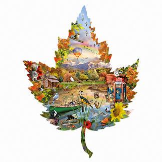 Puzzle - Herbst Ein Spaß für die ganze Familie – spannend und entspannend zugleich.