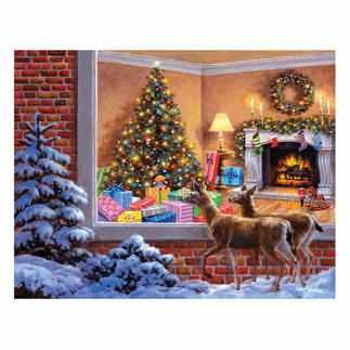Puzzle - Das Weihnachtszimmer Ein Spaß für die ganze Familie – spannend und entspannend zugleich.