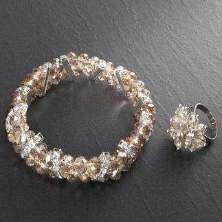 Schmuckset Chablis Ein schickes Ensemble: Armband mit passendem Ring.