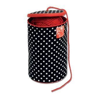 Prym Wollspender Polka Dots (ohne Inhalt) Wollspender im pfiffigen, farbenfrohen Polka Dots Design (ohne Inhalt).