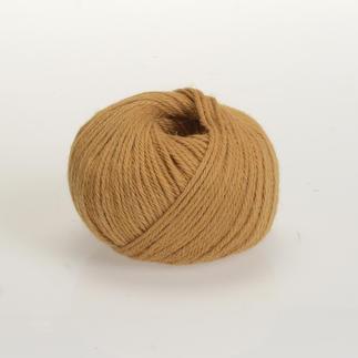 Baby Alpaka von ggh - gefärbt - % Angebot %, Senf