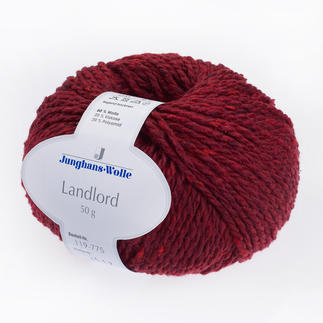 Landlord von Junghans-Wolle - % Angebot %, Rot
