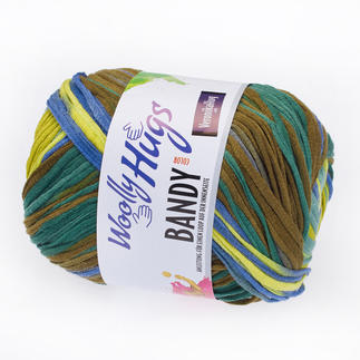 Bandy Color von Woolly Hugs, Hellgrün-Color