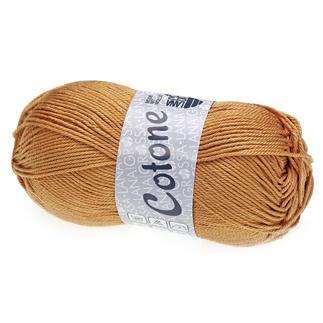 Cotone Uni von Lana Grossa - % Angebot %, Karamell