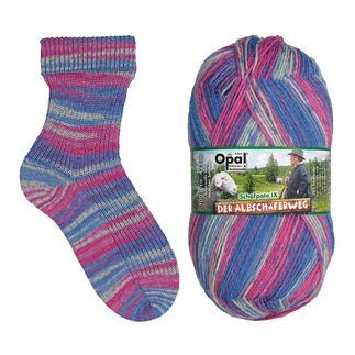 Opal Pullover- & Sockenwolle Der Albschäferweg Schafpate IX 4-fach, Steinheimer Becken