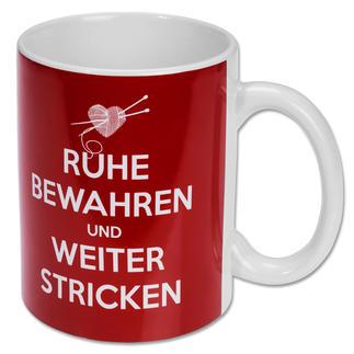 Kaffee- oder Teebecher von Strickimicki