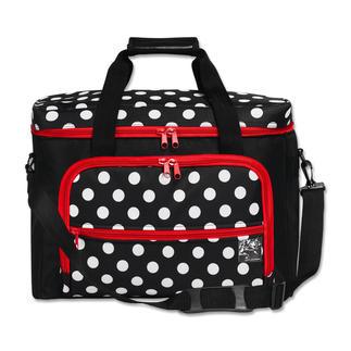 Nähmaschinen-Tasche Polka Dots Praktische Aufbewahrung Ihrer Utensilien.