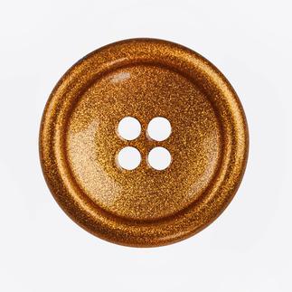 Knopf, Cognac, 1 Stück