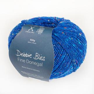 Fine Donegal von Debbie Bliss, Lapis Lazuli Luxus Garn aus reinen Naturfasern.