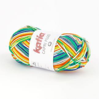 Capri Plus von Katia - % Angebot %, Grau-Gelb-Grün-Blau-Orange