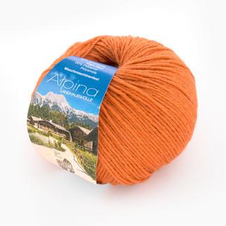 Alpina Landhauswolle von Lana Grossa - % Angebot %, Terrakottaorange