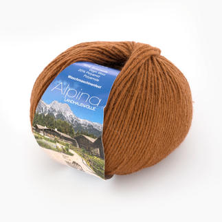 Alpina Landhauswolle von Lana Grossa - % Angebot %, Rehbraun