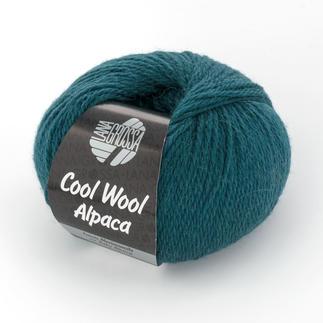 Cool Wool Alpaca von Lana Grossa - % Angebot %, Petrol