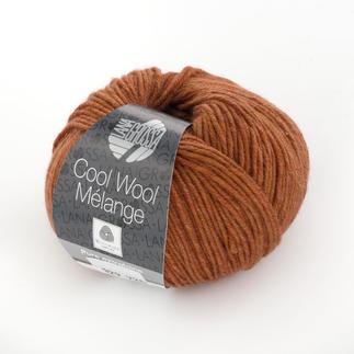 Cool Wool Melange von Lana Grossa - % Angebot %, Terrakotta meliert