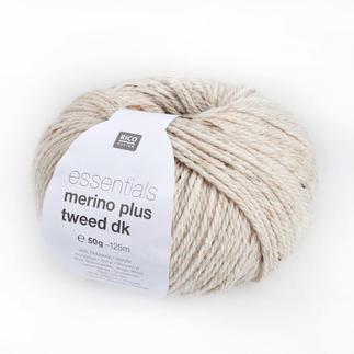 Essentials Merino Plus Tweed DK von Rico Design