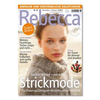 Heft - Rebecca Nr. 76 Herbst/Winter – mit toller Strickmode