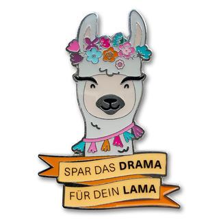Strickimicki Pin - Drama Lama