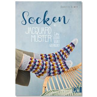 Buch - Socken mit Jacquard-Muster