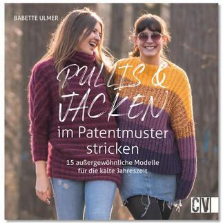 Buch - Pullis & Jacken im Patentmuster stricken
