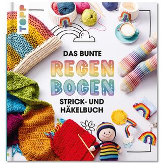 Buch - Das bunte Regenbogen Strick- und Häkelbuch