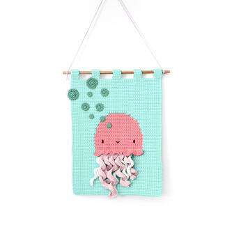 Wandbehang - Jellyfish