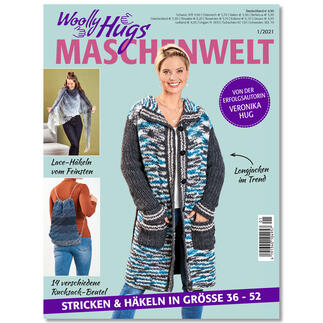 Heft - Woolly Hugs Maschenwelt 01/21
