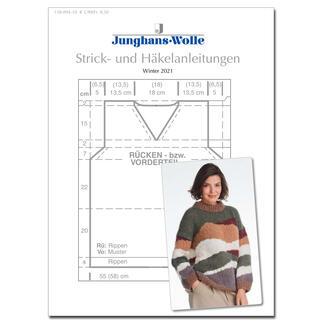 Anleitungsheft WoolDesign Winter 2021
