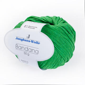 Bandana von Junghans-Wolle - % Angebot %, Gras