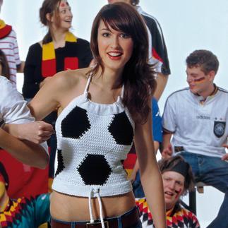 Anleitung 828/5, Fußball-Top aus Catania Grande von Schachenmayr smc