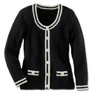 Anleitung 232/3, Damenjacke aus Merino-Cotton von Junghans-Wolle