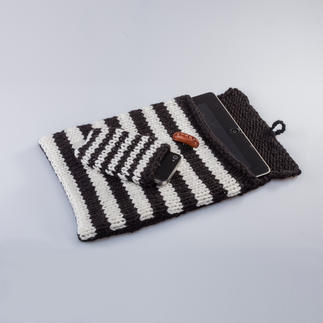 Anleitung 117/4, Tablet- und Smartphone-Hülle aus Uppland von Junghans-Wolle