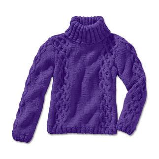 Anleitung 196/4, Pullover aus Clou von Junghans-Wolle