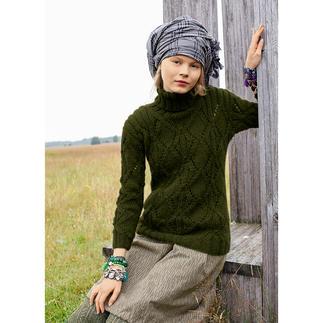 Anleitung 365/4, Pullover aus Andania von ggh, Modell aus Rebecca Heft 56
